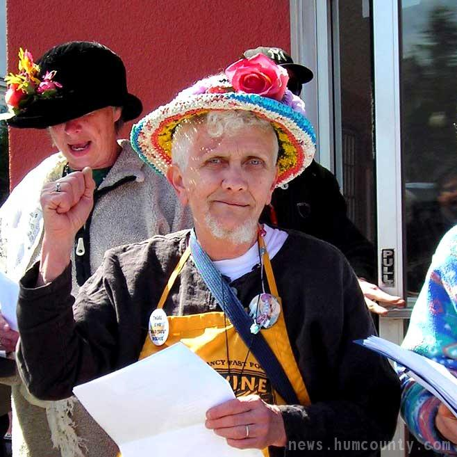 Raging Grannies in Arcata California