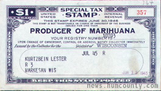 taxation of marijuana