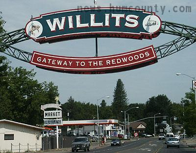 Willits, California is home to the largest organized marijuana producers in the world.